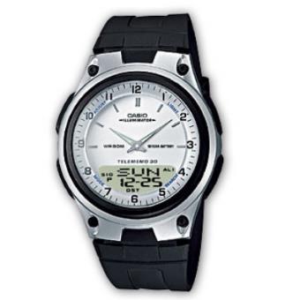 Casio Relógio Collection AW-80-7AVES (Branco/Preto)