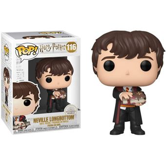 Funko Pop! Harry Potter: Neville with Monster Book - 116