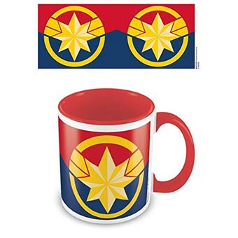 Caneca Captain Marvel: Emblem