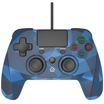 Comando Snakebyte Gamepad 4 S para PS4 - Camo Blue