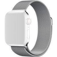 Bracelete Metal 4-OK para Apple Watch 38mm | 40mm - Prateado