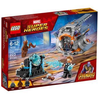 LEGO Marvel Super Heroes 76102 A Demanda pela Arma de Thor