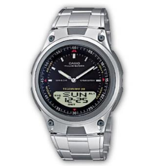 ccffc1d042d Casio Relógio Collection AW-80D-1AVES (Preto Prateado) - Relógio ...