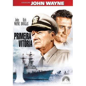7e9c5b4134f4c Primeira Vitória - Otto Preminger - John Wayne - Kirk Douglas - DVD ...