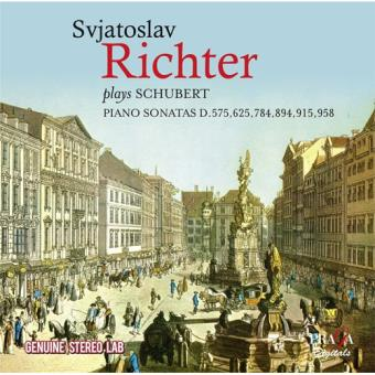 Richter plays Schubert Piano Sonatas - 2CD