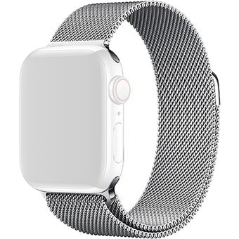 Bracelete Metal 4-OK para Apple Watch 42mm | 44mm - Prateado