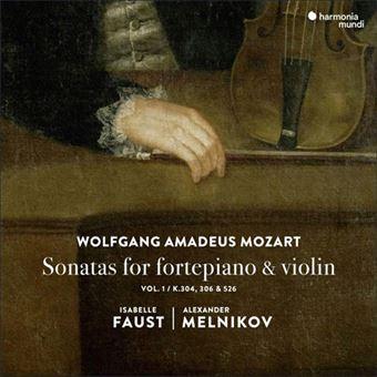 Mozart: Sonatas for Fortepiano & Violin - CD