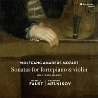Mozart: Sonatas for Fortepiano & Violin - CD