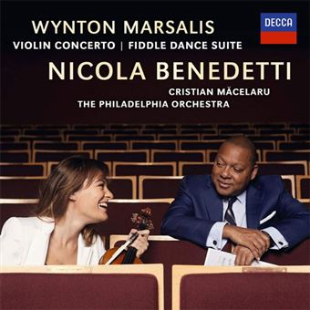 Marsalis: Violin Concerto, Fiddle Dance Suite - CD
