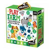 Puzzle Play Farm Progressive - Headu