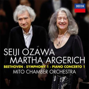 Beethoven: Symphony Nº 1 In C, Piano Concerto Nº 1 In C - CD