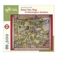 Peter Pan Map Puzzle (500 Peças)
