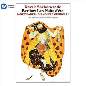 Berlioz: Les Nuits d'Été & Ravel: Shéhérazade - CD
