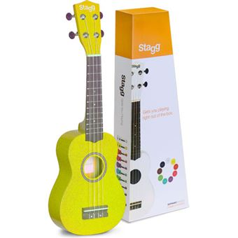 Ukulele Soprano US-LEMON Stagg