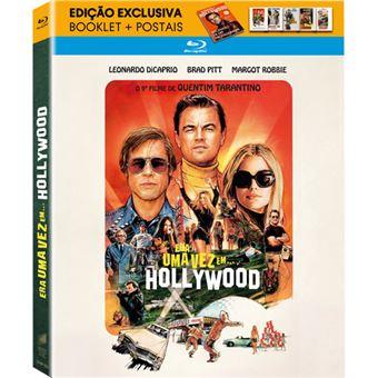 Era Uma Vez em... Hollywood - Blu-ray + Booklet + Postais