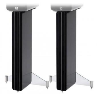 Q Acoustics Stand Suporte Concept 20 Preto Lacado