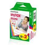 FujiFilm Carga ColorFilm Instax Mini Glossy 10x Folhas Pack 2