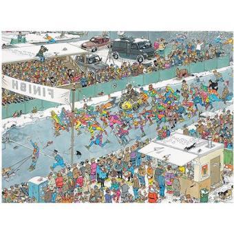 Puzzle Comic Eleven City Ice Tour (1000 peças)