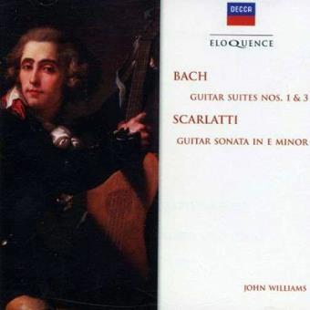 BACH-GUITAR SUITES NOS 1&3(IMP)