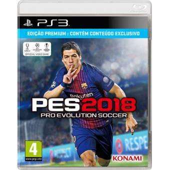 Pro Evolution Soccer 2018 Edição Premium PS3