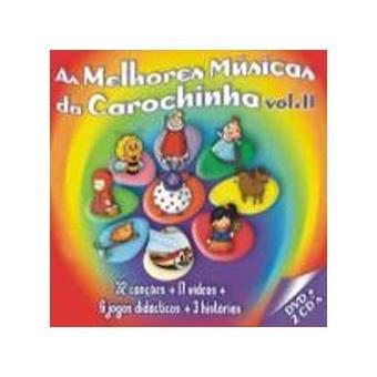 dvd as melhores musicas da carochinha