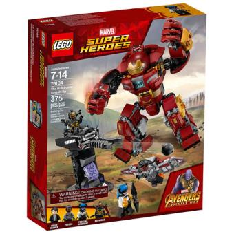 LEGO Marvel Super Heroes 76104 O Ataque Destruidor de Hulkbuster