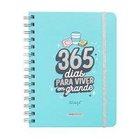Agenda Escolar Sketch Vista Semanal 2020-2021 Mr. Wonderful - 365 Dias para Viver em Grande
