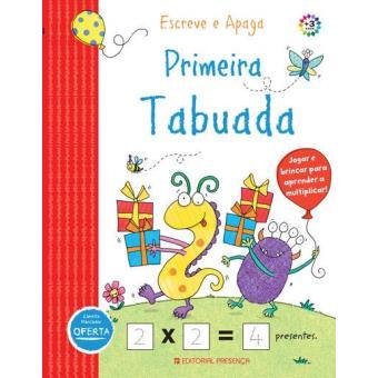 Escreve e Apaga - Primeira Tabuada