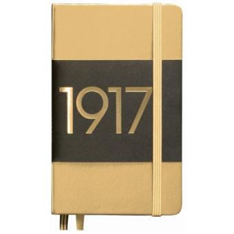 Caderno Liso Leuchtturm A6 Dourado
