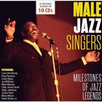 Male Jazz Singers - 10CD