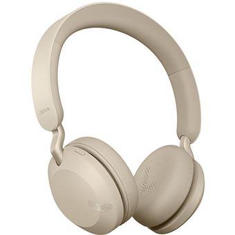 Auscultadores Bluetooth Jabra Elite 45h - Gold Beige