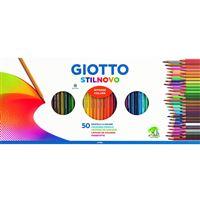 Lápis de Cor Giotto Stilnovo - 50 Unidades