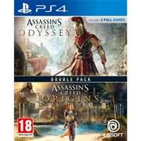 Assassin's Creed Odyssey + Assassin's Creed Origins Double Pack - PS4