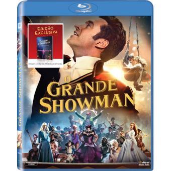 O Grande Showman - Blu-ray + Booklet Lyrics