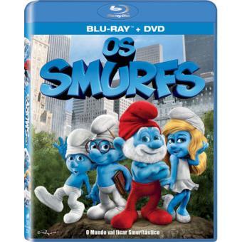 Os Smurfs - Blu-ray + DVD