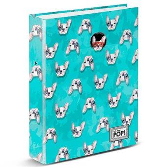 Dossier de 4 Argolas Oh My Pop - Doggy, A4