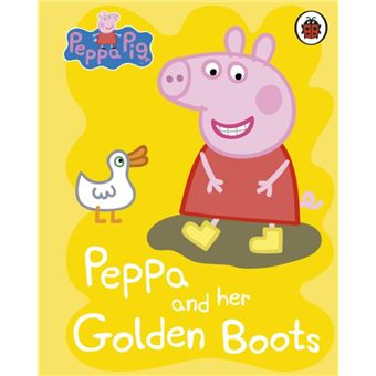 Peppa pig: peppa and her golden boo