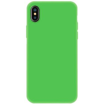 Capa 4-OK Silk 0.2 para iPhone X/XS - Verde