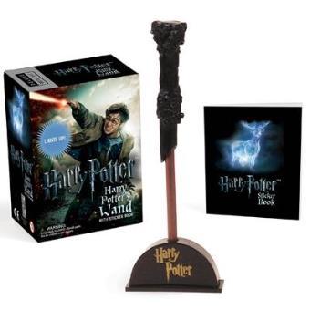 Mini Kit Harry Potter's Wizard Wand + Sticker Book