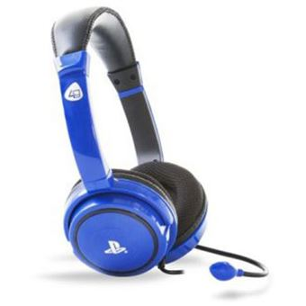 Auscultadores Gaming 4Gamers Pro 4-40 para PS4 - Azul