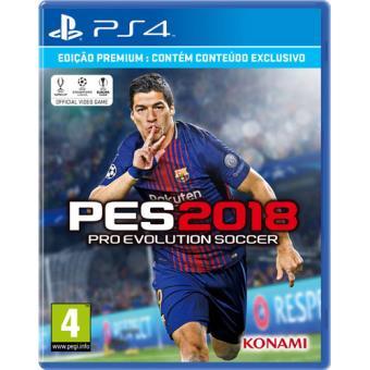 Pro Evolution Soccer 2018 Edição Premium PS4