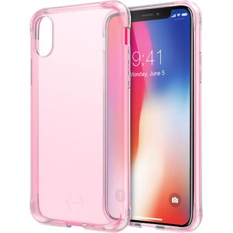 Capa It Skins Zero Gel para iPhone X - Rosa