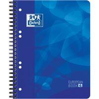 Caderno Pautado Oxford European Book 4 A5 Azul
