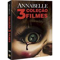 Pack Annabelle - Coleção 3 Filmes - 3DVD