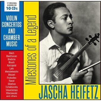 Jascha Heifetz: Milestones Of A Legend - 10CD