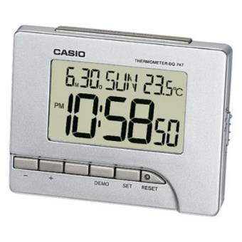 Casio DQ-747-8EF Digital alarm clock Prateado despertador