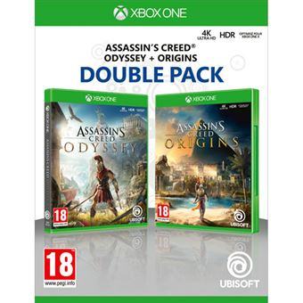 Assassin's Creed Odyssey + Assassin's Creed Origins Double Pack - Xbox One