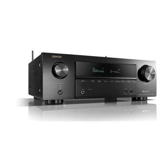 Denon AVR-X1500H 80 W 7.1 canais Surround Compatibilidade 3D Preto