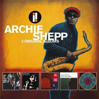 Archie Shepp: 5 Original Albums - 5CD