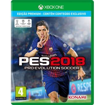 Pro Evolution Soccer 2018 Edição Premium Xbox One